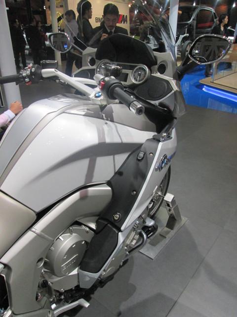 画像4: <理子の東京モーターショー2013見聞録> バイクに革ジャンに女の子 (BMW編)