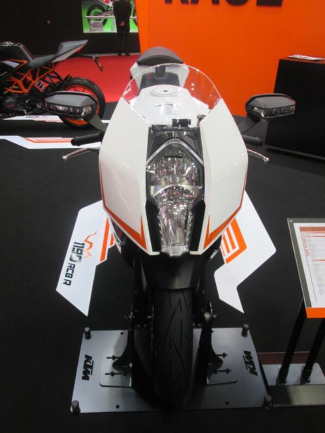 画像8: <理子の東京モーターショー2013見聞録> どうやって遊ぼうかな♪(KTM編)