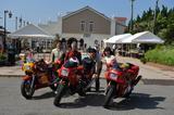 画像1: 卍固めサービスも! 「銚子電気鉄道開業90周年イベント×バイク」が開催されました!※画像追加