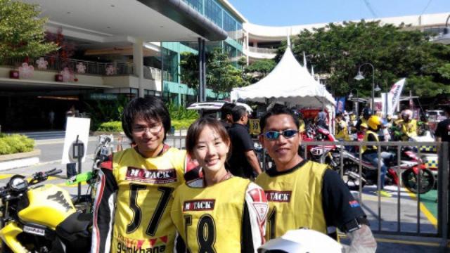 画像2: <ジムカーナ>マレーシアのジムカーナ大会「MOTACK - Malaysian Motorcycle Time Attack」に参加してみた!(その1)