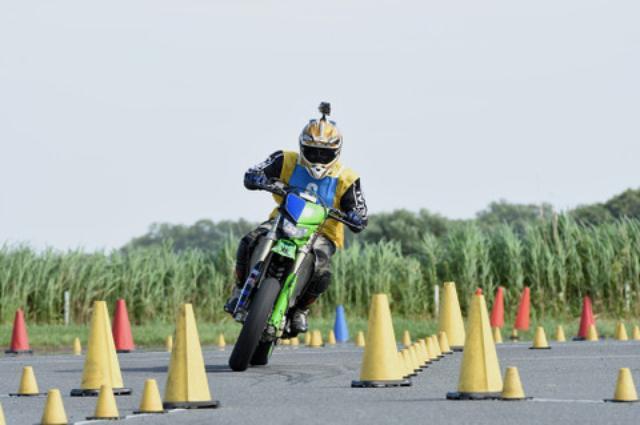 画像1: <ジムカーナ>2012年以来久々の勝利! オートバイ杯ジムカーナ第2戦