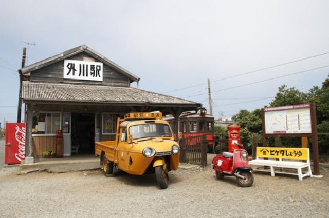 画像6: 卍固めサービスも! 「銚子電気鉄道開業90周年イベント×バイク」が開催されました!※画像追加