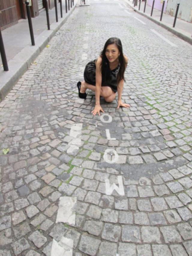 画像: こんな感じの石畳にも、愛を感じてしまう、あたし。