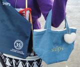 画像: 試乗でもらえるSHIPSオリジナルトートバッグは2色用意。