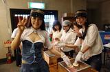 画像: ↑写真は「90周年イベント」犬吠駅での手焼き体験中。楽しくて美味しいよ。