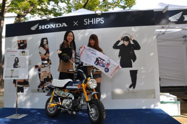 画像1: 女性限定イベント「Honda×SHIPS LOVE BIKE ZONE」が開催されました!