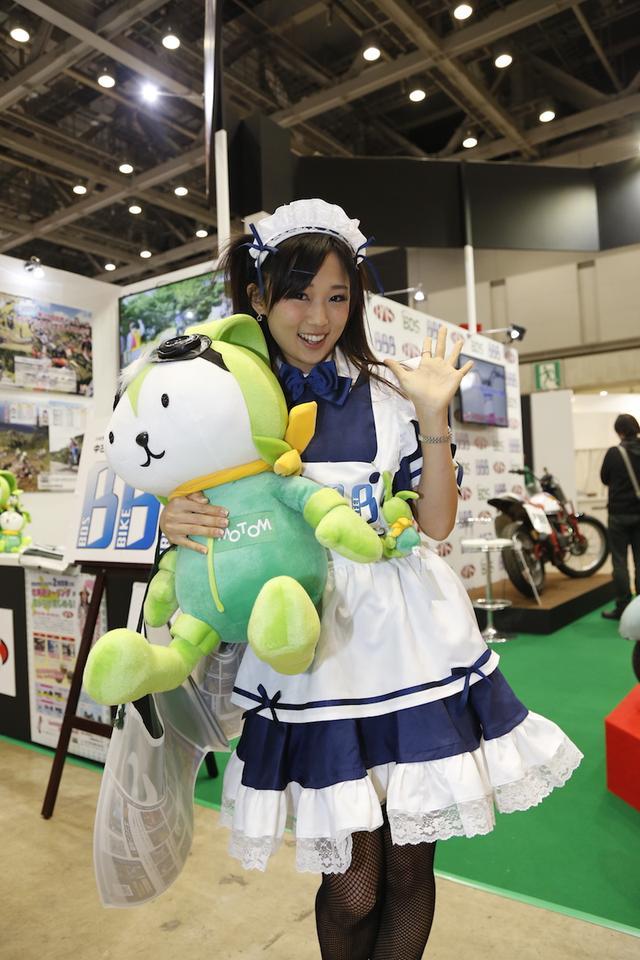 画像9: <東京MCS2015>ブースの中の美女たち!(その3)
