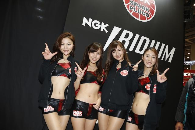 画像5: <東京MCS2015>ブースの中の美女たち!(その3)