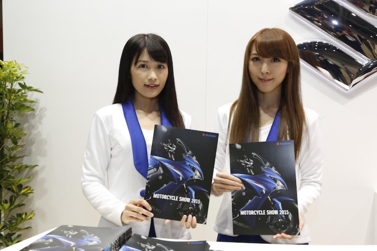 画像3: <東京MCS2015>ブースの中の美女たち!(その3)