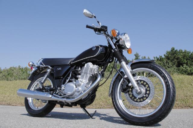 画像: <試乗ダイジェスト>YAMAHA SR400(2010年モデル)