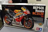 画像: 作れば速さの秘密が分かる? タミヤ1/12 レプソル Honda RC213V'14発売記念トークショー