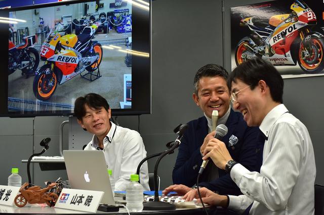 画像: 左から設計者の古谷隆久さん、宮城光さん、司会の山本暁さん