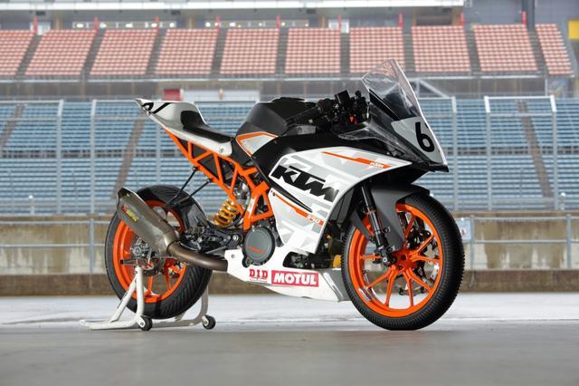 画像: もて耐では台数増えています! KTMのRC250…も300ccにしていいってことになるね。