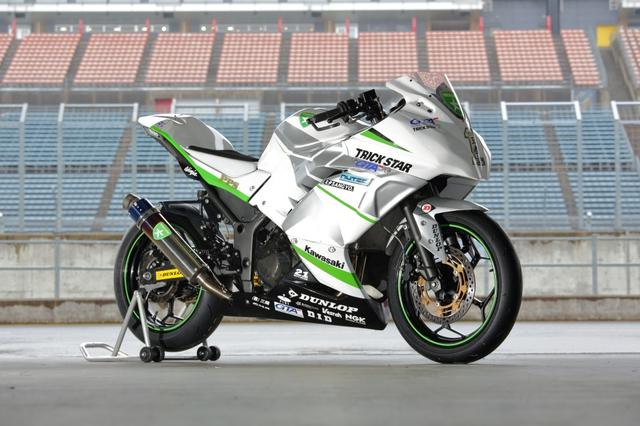 画像: Ninja250は2015年アジア選手権AJ250チャンピオン! トリックスターレーシング車