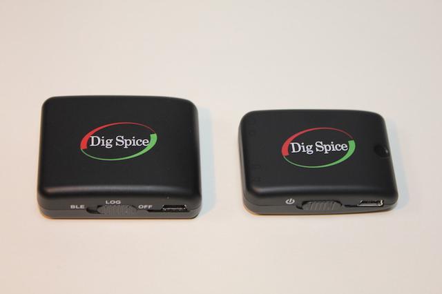 画像: 左が新型の「デジスパイスⅢ」、右は従来モデルの「デジスパイスⅡ」。