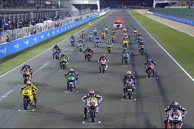 画像1: <Moto2>ジャンプスタート続出! 開幕戦・カタールGPレポート