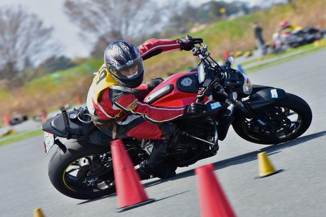 画像1: 注目のダンロップタイヤワンメイク化初戦、最高峰・A級は大接戦に! オートバイ杯ジムカーナ第1戦
