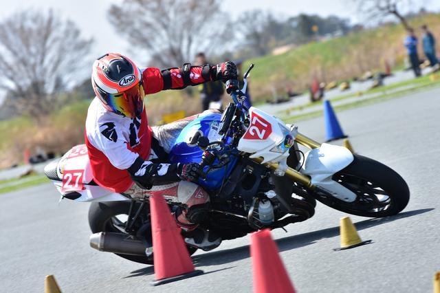 画像21: 注目のダンロップタイヤワンメイク化初戦、最高峰・A級は大接戦に! オートバイ杯ジムカーナ第1戦
