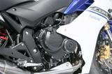 画像: スーパースポーツ・CBR600RR用のエンジンをベースに、低中速でのパワー重視にリファイン。最高出力は102PS。