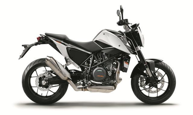 画像: KTM 690DUKE(ホワイト) ■価格:95万円