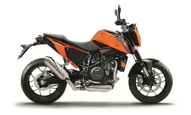 画像: KTM 690DUKE(オレンジ) ■価格:95万円