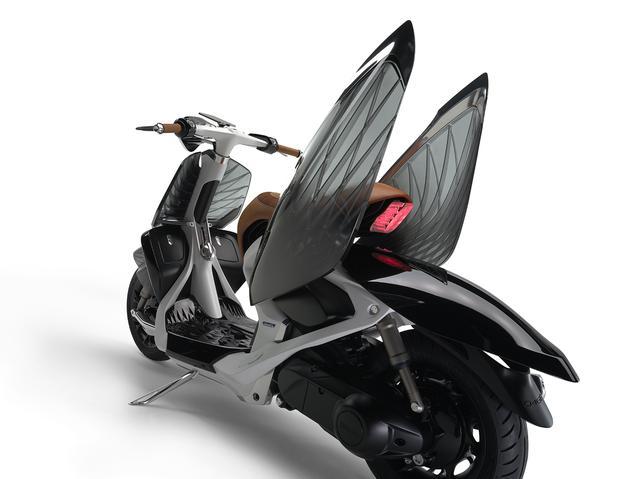 画像1: 羽根つきスクーター? ヤマハが「04GEN」を発表!