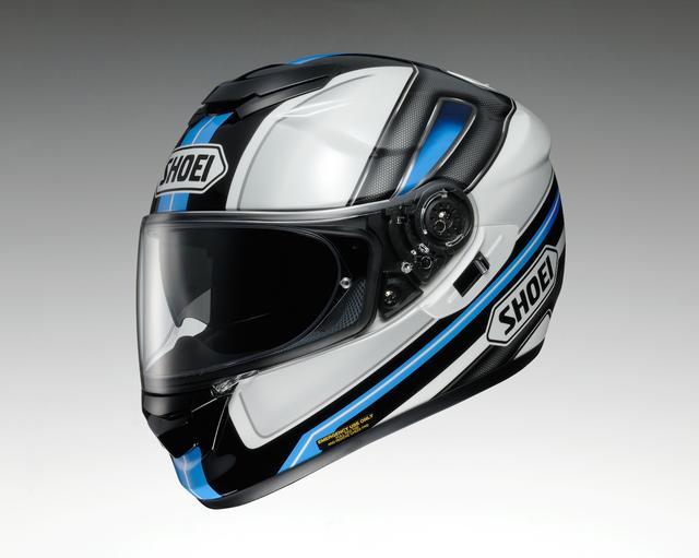画像: SHOEI GT-Air DAUNTLESS(ドーントレス)●カラー:BLUE/WHITE ■価格:6万480円