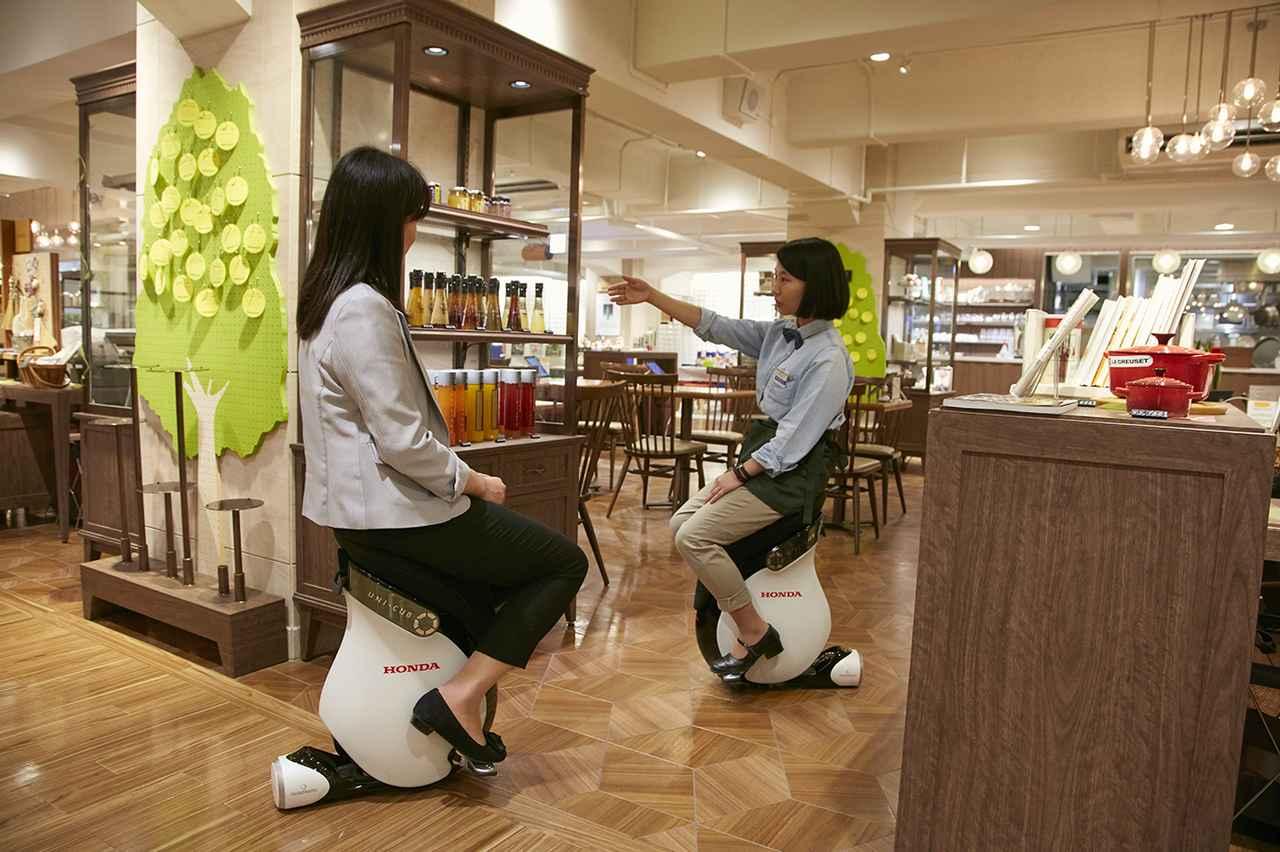 画像: Hajimarino cafe 乗車体験サービスイメージ