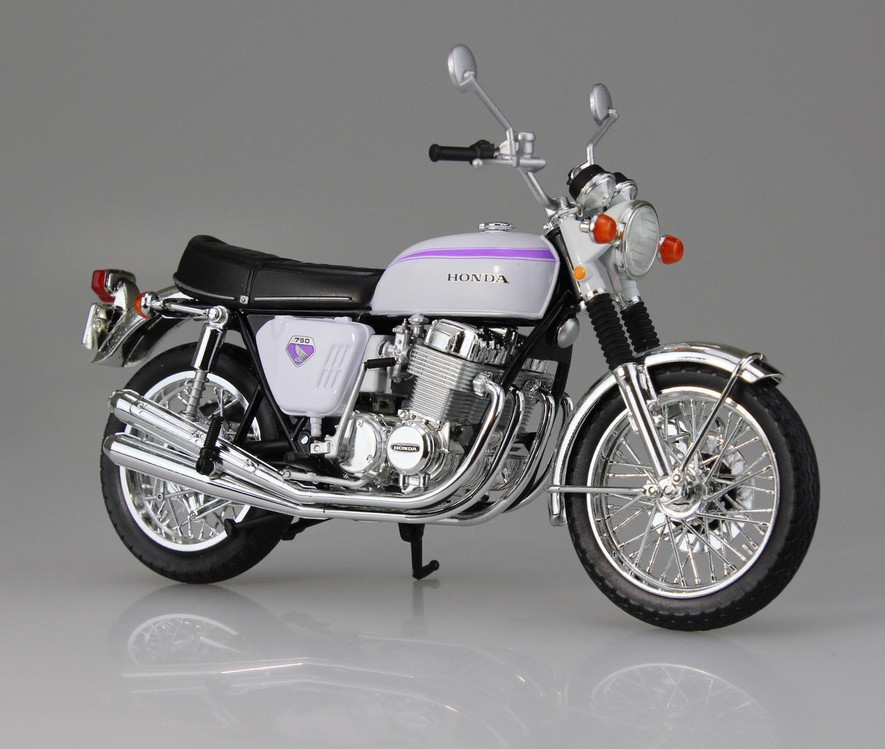 画像1: 1/12 完成品バイク Honda CB750FOUR(K0) 名古屋カラー ■本体価格:2000円