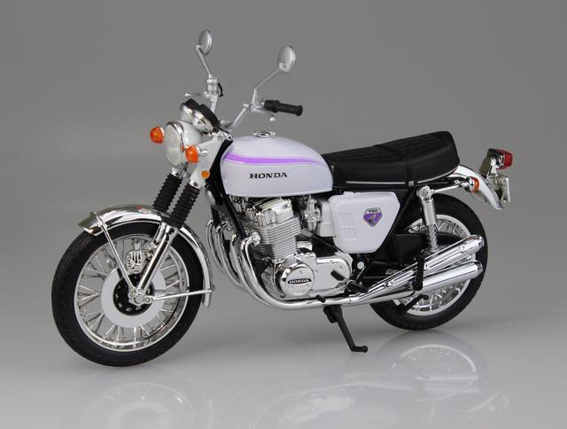 画像2: 1/12 完成品バイク Honda CB750FOUR(K0) 名古屋カラー ■本体価格:2000円