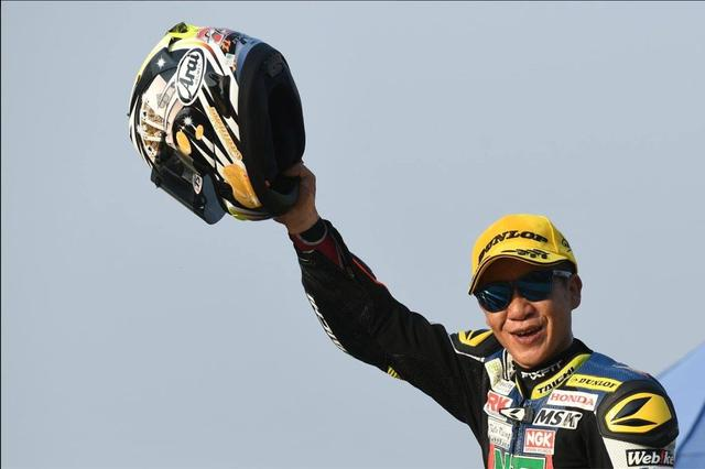 画像1: アジア選手権SS600クラスのレース1で初優勝!