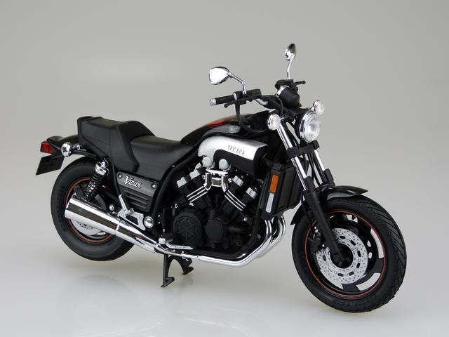 画像2: 1/12 バイク No.08 ヤマハ VMAX '07 ■価格:2600円(税抜)※2016年5月発売予定