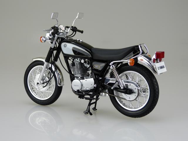 画像3: 1/12 バイク No.17 ヤマハ SR400/500 '96 ■価格:2600円(税抜)※2016年7月発売予定