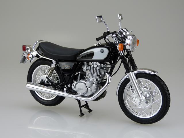 画像2: 1/12 バイク No.17 ヤマハ SR400/500 '96 ■価格:2600円(税抜)※2016年7月発売予定