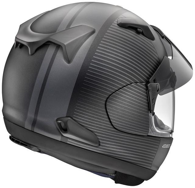 画像2: アライヘルメット ASTRAL-X TWIST(グラスブラック・ツイスト・黒) ■価格:6万2640円(税込)