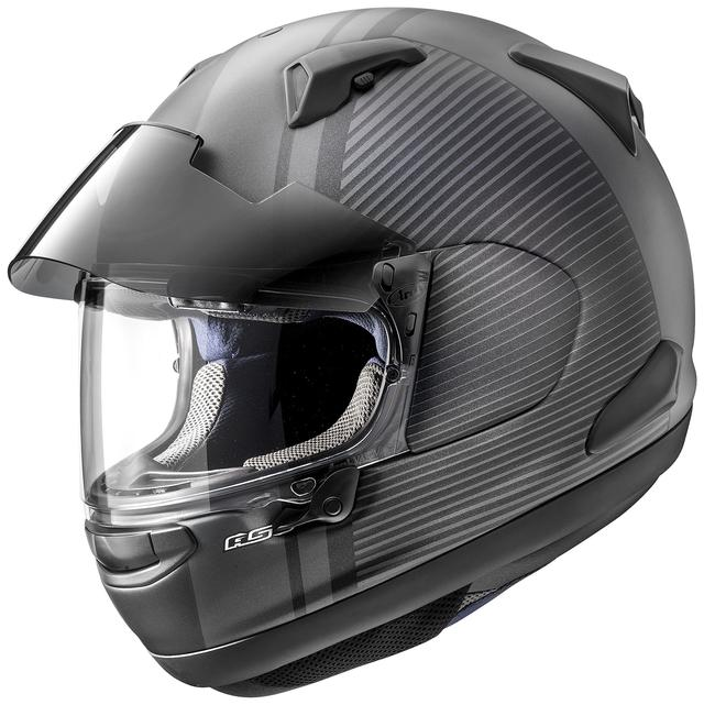 画像1: アライヘルメット ASTRAL-X TWIST(グラスブラック・ツイスト・黒) ■価格:6万2640円(税込)