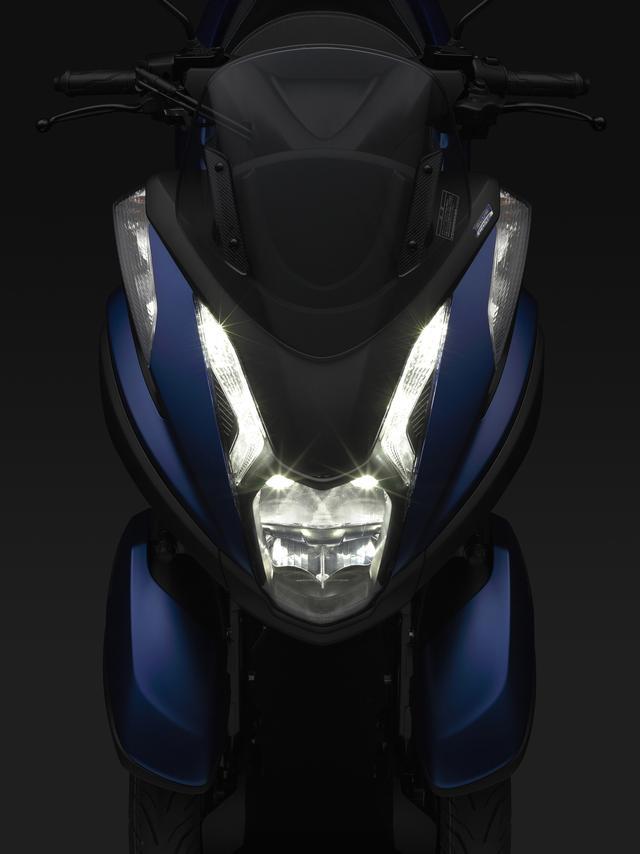 画像: ヘッドライトとポジションランプにはLEDを採用。