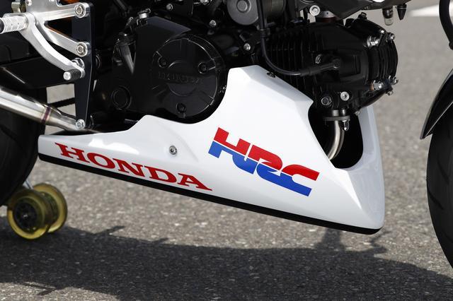 画像15: HRC グロム(レースベース車・ショー展示車両)全部見せ!