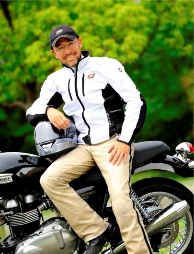 画像: <実技トレーニング> 佐川 健太郎 氏 (1963年東京生まれ 早稲田大学教育学部卒業) 雑誌編集者を経て現在はバイクジャーナリストとして二輪専門誌やWEBメディアで活躍する傍ら「ライディングアカデミー東京」校長他、 メーカー系イベントで講師を務めるなど、 セーフティライディングの普及にも注力。 株式会社モト・マニアックス代表。