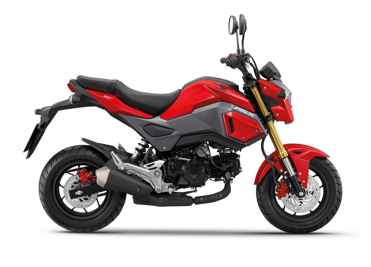 画像: Honda MSX125 youtu.be