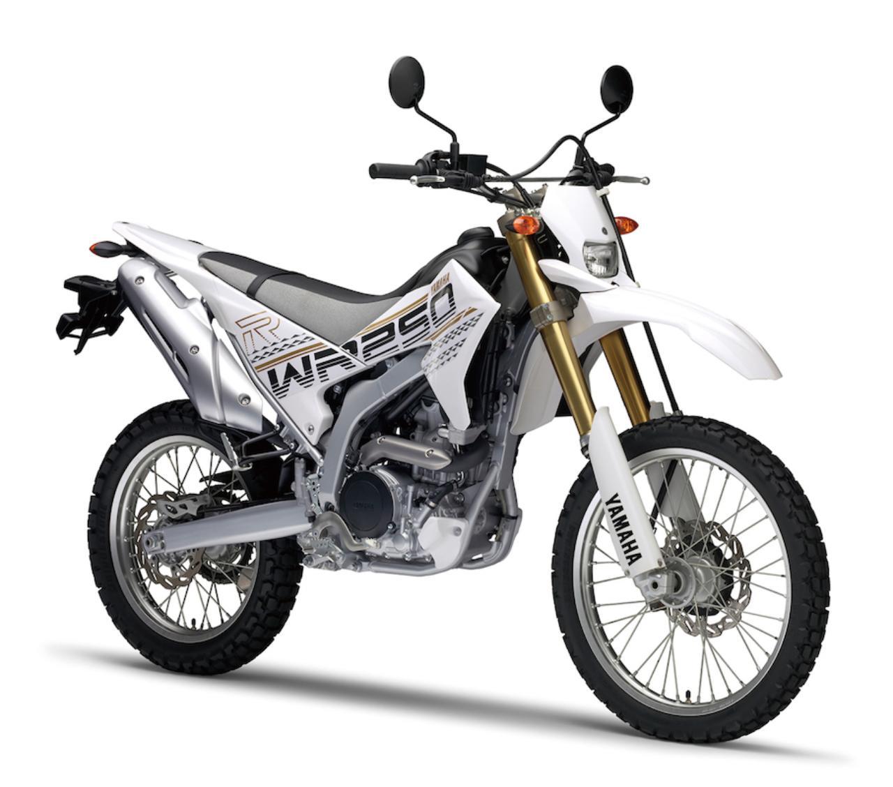 画像: Y040 YAMAHA WR250R ■価格:72万1440円 「オフロードのR1」を目指し、アルミフレームや高精度な前後サス、最高出力31PSという249cc水冷単気筒エンジンなど、贅沢なメカニズムを採用。今も国内向けオフロード車屈指の高性能を誇っている。