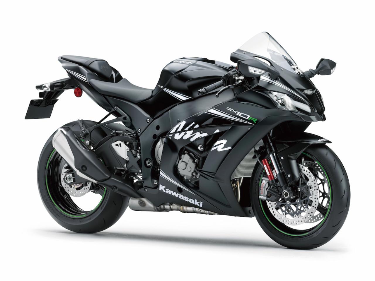 画像: K006 KAWASAKI ZX-10R ABS ■価格:220万8600円 2016年モデルで5年ぶりにフルモデルチェンジ。エンジンはスーパーバイクレーサーのノウハウを活かしてパワフルに進化。トラクションコントロールやエンジンブレーキコントロール、ABSなどの電子制御デバイスも大きくアップデート。