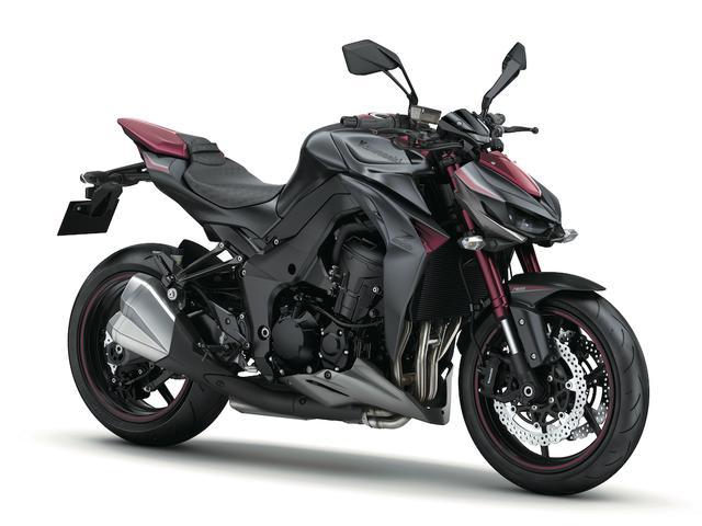 """画像: K003 KAWASAKI Z1000 ABS ■価格:125万2800円 ニンジャ1000とフレームやエンジンを共用、より軽快で獰猛に仕立てられたスーパーネイキッド。最新モデルは""""凄み""""がキーワードのスタイリングを採用して注目された。"""