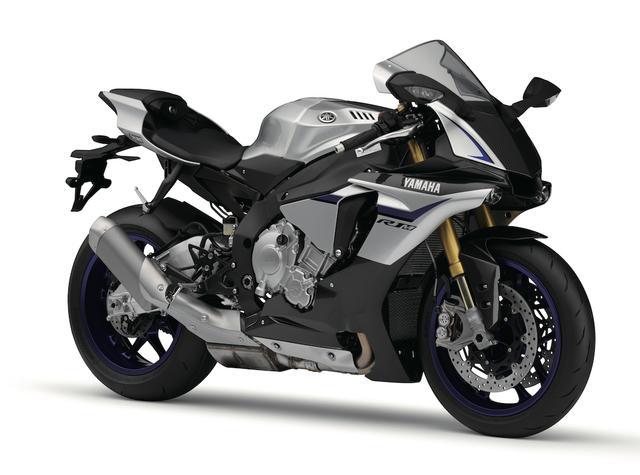 画像: Y006 YAMAHA YZF-R1M ■価格:318万6000円 久々のモデルチェンジでスーパーバイクレースでの勝利を目指してエンジンも車体も一から大変身したYZF-R1をベースに、オーリンズ製電子制御セミアクティブサスやカーボン外装を装着した上級モデル。