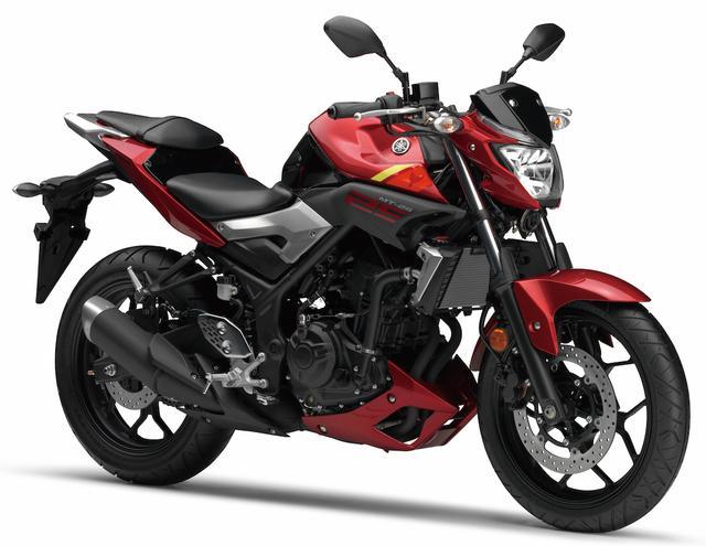 画像: Y024 YAMAHA MT-25 ■価格:52万3800円 YZF-R25をベースに開発された、ネイキッドスポーツ・MTシリーズの250ccバージョン。開発コンセプトはストリートを軽快に駆け抜ける「大都会のチーター」。ヘッドライトやシュラウドが目立つ、MTシリーズらしい俊敏さをイメージさせる個性的なネイキッドスタイルを採用する。