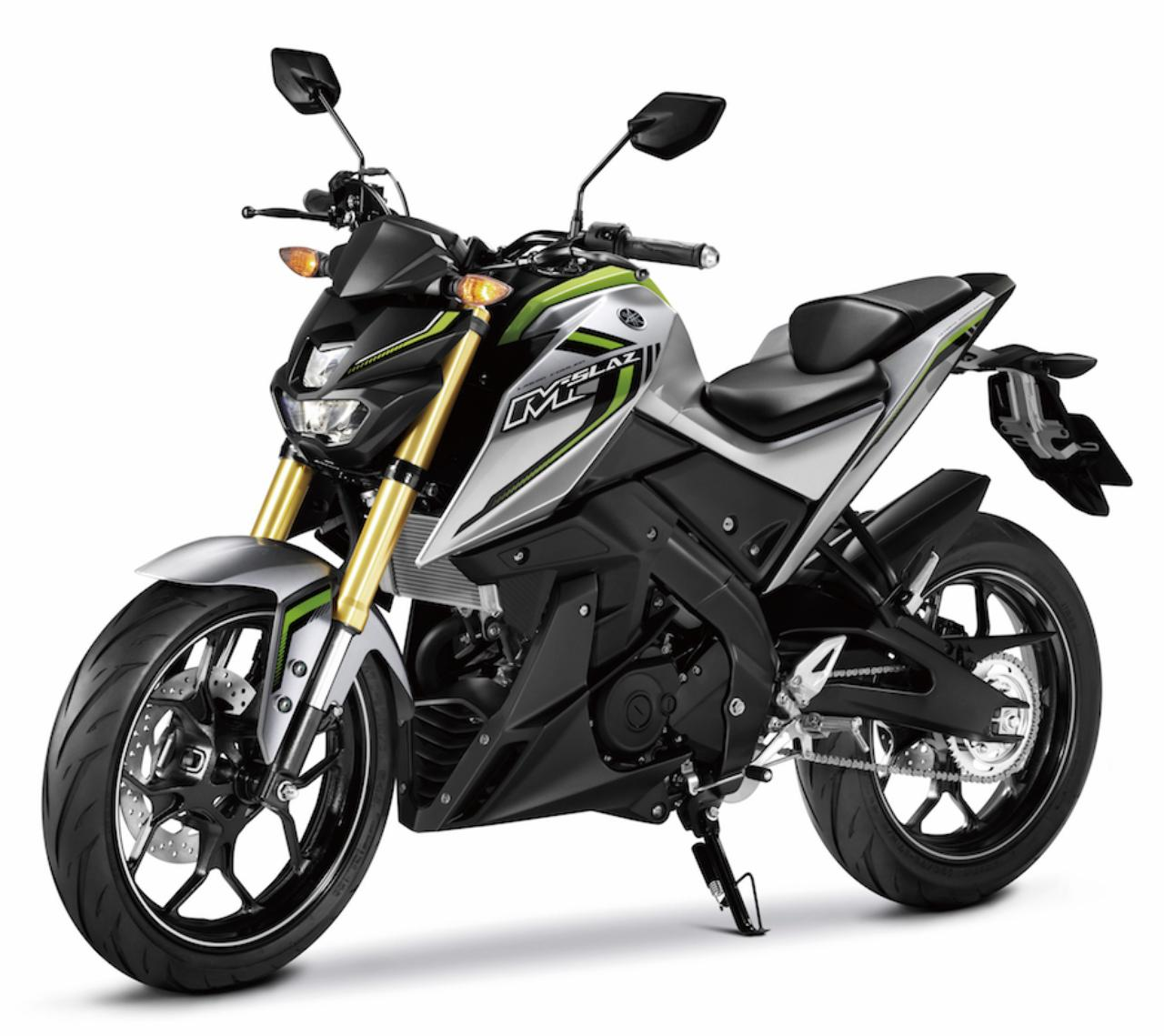 画像: Y027 YAMAHA M-SLAZ ■価格未定 東南アジア向けにヤマハが新開発したM-SLAZ。昨年12月からタイなどで発売をスタートした150ccスポーツモデルで、初心者も気軽に楽しめるような扱いやすさと実用性を追求している。