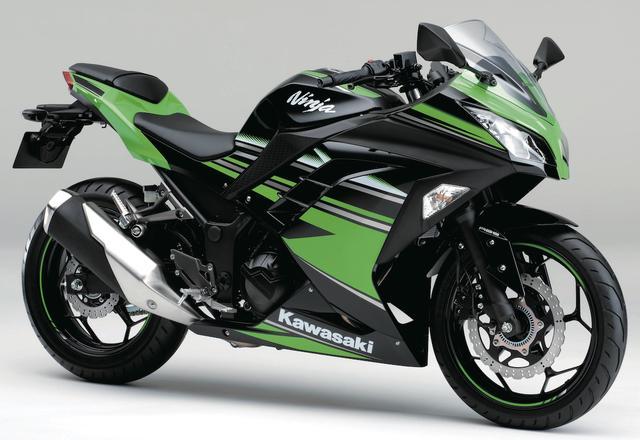 画像: K017 KAWASAKI NINJA250/SE/ABS SE/KRT Edition ■価格:55万3500円/56万9160円/62万460円/62万460円 250ccクラス人気のきっかけとなった初代ニンジャ250Rの後継として登場。2016年モデルでは、スーパーバイク世界選手権チャンピオンを獲得したマシンカラーを再現した、ABS KRTエディションも発売された。