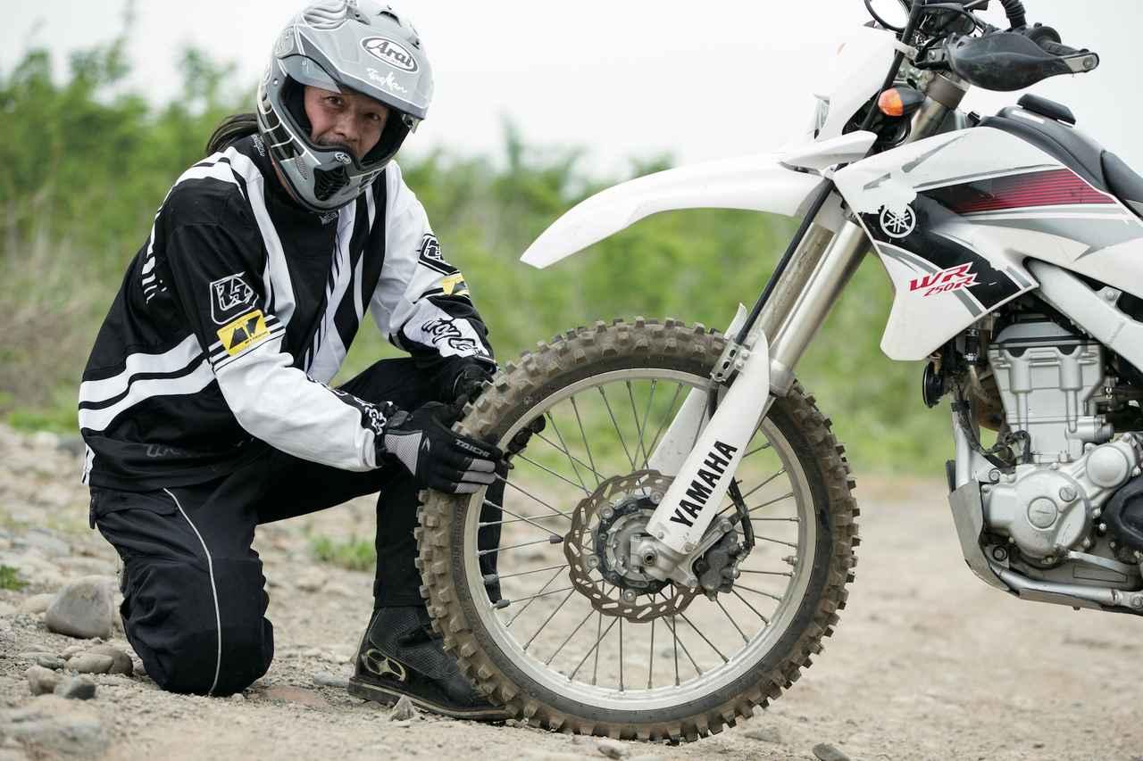 画像6: 泥好きライダーのための超ハイグリップタイヤは公道不可のスペシャル品!