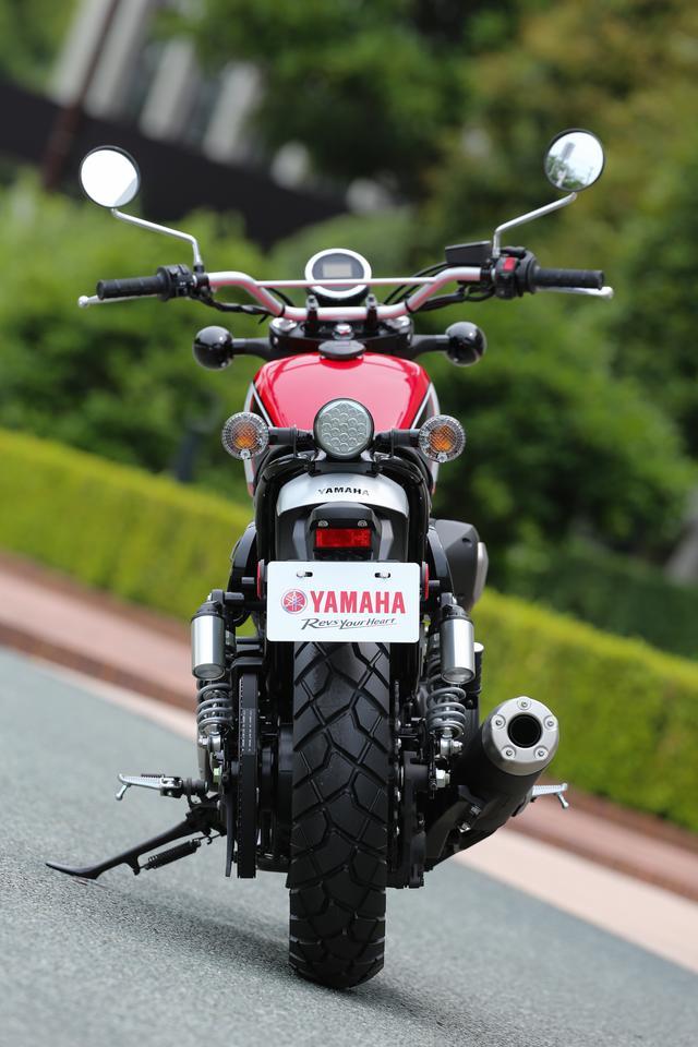 画像3: ヤマハのヘリテイジ・スポーツ「SCR950」