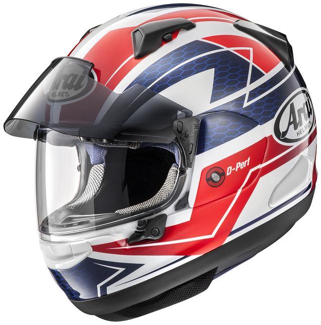 画像1: アライヘルメット ASTRAL-X CURVE(RED) ■価格:6万2640円(税込)